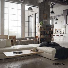roomify Couchtisch MIGUEL Wohnzimmertisch coffee-table LOFT