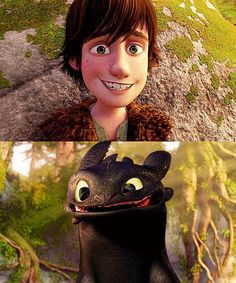 how to train your dragon. I LOVE this movie! Toothless is the perfect combination of a cat and dog!