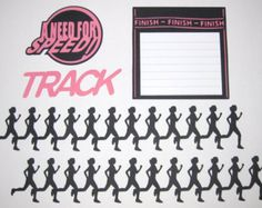 scrapbook layouts cross country | Sorry, this item sold. Have ScrapbookFaster make something just for ...