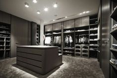 Luxury Closet Design & High End Closet Systems Walk In Closet Design, Bedroom Closet Design, Master Bedroom Closet, Closet Designs, Home Decor Bedroom, Master Suite, Walking Closet, Wardrobe Room, Modern Closet