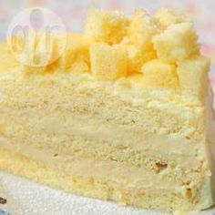 Recipe photo: Triple Layer Durian Cake