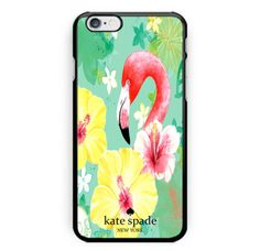 Flamingo-Kate-Spade-Print-On-Hard-Plastic-Case-Cover-For-iPhone-6-6s-iPhone-7