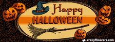 Pumpkin Background Happy Halloween Facebook Cover Photo - Facebook Timeline Cover Photo - Fb Cover