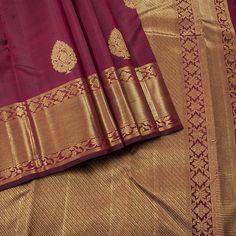 Created in a beautiful maroon color all over, this Kanjivaram silk saree gives a dazzling beauty to the one who wore!! Pure gold zari beautifully fills the border, giving grand look.  #Maroonsilksarees #Weddingsilks #Traditionalsilks  Visit us: https://www.hayagrivassilkhouse.com/saris/1171-hayagrivas-kanjivaram-silk-sari-15s1047a2.html Call us: 91 9840582892