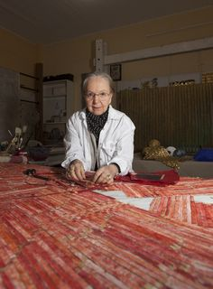 Textile Artist Olga de Amaral - artnet News