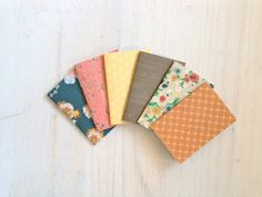 Notebooks: 6 Tiny Journals, Small Notebooks, Country, Sweet, Floral, Pink, For Her, For Him, Kids, Gift, Unique, Party Favors, Wedding on Etsy, $5.00