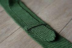 Memento Vivere: DIY: Hæklet slips /// Crochet Tie