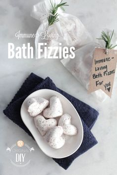 DIY Homemade Immune-Loving Bath Fizzies
