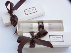 invitation in a box