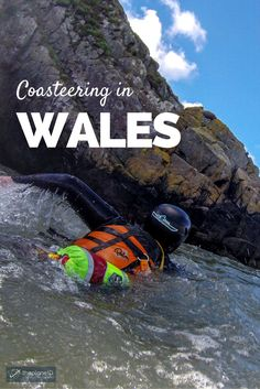 Imagine jumping off cliffs into the freezing Atlantic Ocean off the coast of the UK while being slugged in the face with crashing waves. Then you get to scale slippery rocks to before walking along a precarious narrow path, all while wearing a double wetsuit to take in the view. Sound like fun? If you said yes, Coasteering is for you! | The Planet D Adventure Travel Blog