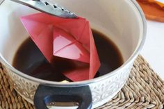 Love paper boats! Tutorial for beeswaxing a paper boat to keep it sea worthy!