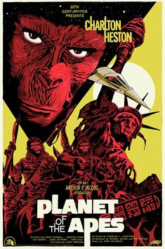 'Planet Of The Apes' Print by Francesco Francavilla for Mondo Fiction Movies, Sci Fi Movies, Science Fiction, Fun Movies, Comedy Movies, Movie Poster Art, Film Posters, Cinema Posters, Linda Harrison