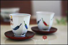 [重山陶器]辣椒系列,特殊碗底出水設計,12切面茶杯,湯吞/尺寸:H8.8×ø8.3cm/材質:陶磁 ★售價杯子一個NT$580元,若兩個一起帶只要1080元(不含杯墊)★郵資65元