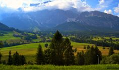 Between the Clouds Alps, The Fresh, Austria, Clouds, Fan, Mountains, Landscape, Summer, Travel