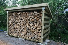 How to build a wood storage shed | ehow, Building a wood shed involves building…