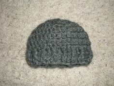 try this Bulky Baby Hat pattern