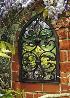 Gothic wall mirror £19.99