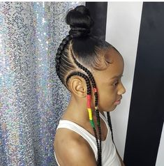 kids hair – Kentavia Johnson kids hair kid … - All For Hairstyles Little Girl Braids, Black Girl Braids, Braids For Kids, Braids For Black Hair, Girls Braids, Braids For Black Kids, Children Braids, Kid Braids, Black Kids Hairstyles