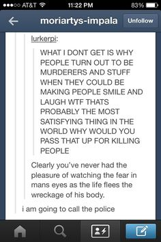 It's not that we're all crazy here on Tumblr, we just look at things in a different light.
