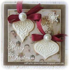 A Simple Christmas Card - Scrapbook.com