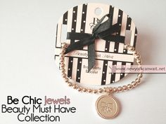 bracciale con medaglione be chic by New York can wait..., via Flickr