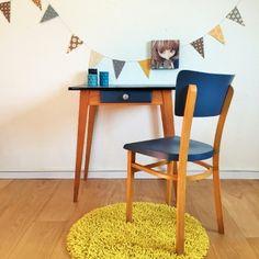 Philomène, la table bureau des années 50 rénovée par Chouette Fabrique