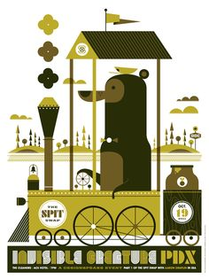 Charming Illustrated Poster by InvisibleCreature