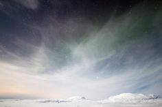 Iceland, just the hint of the aurora looking out to the mountains beyond Thingvellir. A perfect night.