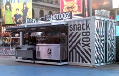Snack Box in Times Square