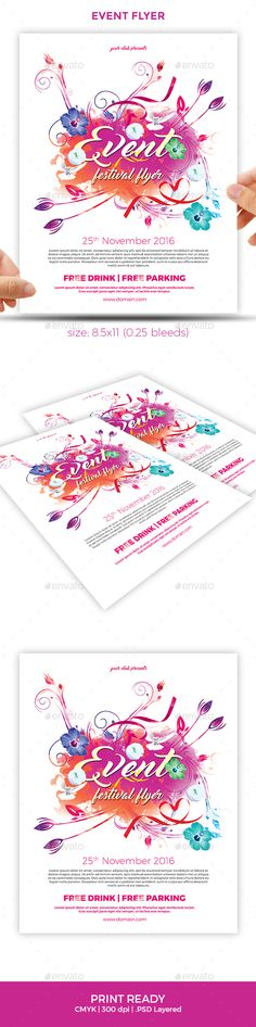 valentine day event flyer template for microsoft word