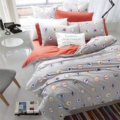 High Quality Luxury Cotton European Queen/King 4 PC Bedding Set Several Style Options