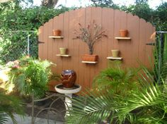 Privacy Fence Ideas Design Ideas, Pictures, Remodel, and Decor - page 6