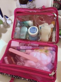 What's in your travel toiletry bag?