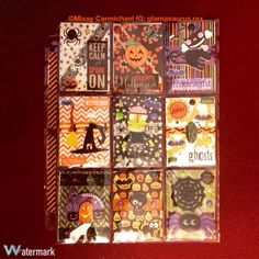 Cute Halloween pocket letter