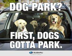 Subaru - Dog Tested. Dog Approved !