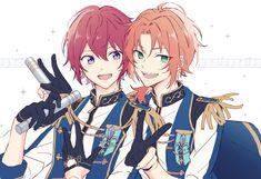 Anime Friendship, Anime Group, Star Comics, Boy Poses, Character Design Animation, Ensemble Stars, Anime Films, Pretty Art, Kawaii Anime