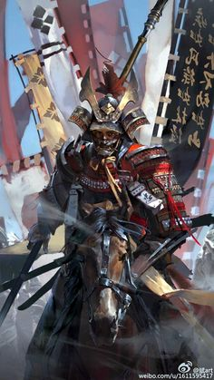 Warrior archetype – Samurai – Original character (illustration by 斌art) Ronin Samurai, Samurai Warrior, Samurai Anime, Woman Warrior, Japanese Culture, Japanese Art, Fantasy Warrior, Fantasy Art, Fantasy Samurai