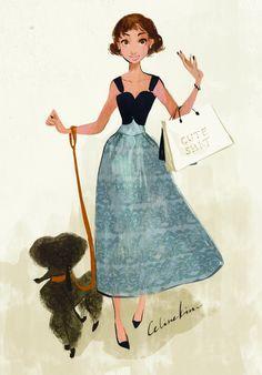 50s inspired illustration