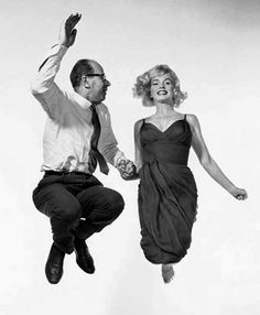 Halsman and Marilyn