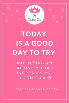 Living with a chronic illness like fibromyalgia, psoriasis, endometriosis, and autoimmune arthritis is difficult when we continue to do things like we did before becoming chronically ill. The Disabled Diva shares how to modify activities and your home to make life easier and less painful!