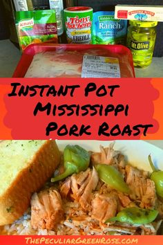 This is a very easy Instant Pot Mississippi Pork Roast Recipe! | Instant Pot | Instant Pot Recipes | Instant Pot Pork | Instant Pot Roast | Instant Pot Mississippi Roast | Instant Pot Mississippi Pork | Easy Dinner | Easy Meals | Quick & Easy Dinner Ideas | #instantpot #instantpotrecipes