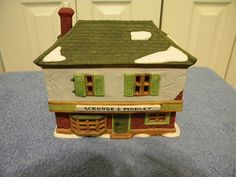 """Dept 56 """"Scrooge Dickens Village, Department 56, Toy Chest, Hobbies, Outdoor Decor, Christmas, House, Home Decor, Xmas"""
