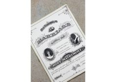 Created from a marriage certificate sample dating back to the 1800's, this certificate will come personalized with your wedding information ... Wedding Certificate, Marriage Certificate, Marriage Announcement, Wedding Gifts, Wedding Day, Marriage License, First Anniversary, Newlywed Gifts, Newlyweds