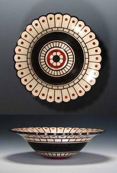 Scalloped Rim Segmented Bowl