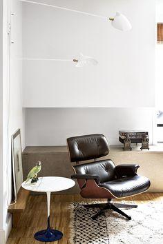 Icónico - AD España, © Antonio Terrón Mesa Tulip, Eames, Art Of Living, Living Rooms, Interior Decorating, Interior Design, Vintage Leather, Interior Inspiration, Madrid