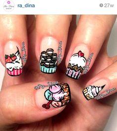 Desserts nails