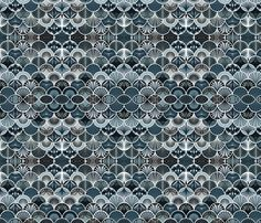 DecoNOIR  fabric by lucinderella on Spoonflower - custom fabric