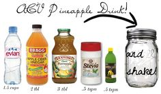 Lovely At Your Side: Delicious Apple Cider Vinegar Drinks? Yes, Please! (pineapple apple cider vinegar drink) inspired by Delighted Momma!