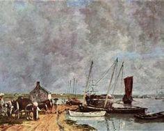 Seehafen - Eugene Boudin