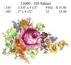 11600-105 Salieri Floral